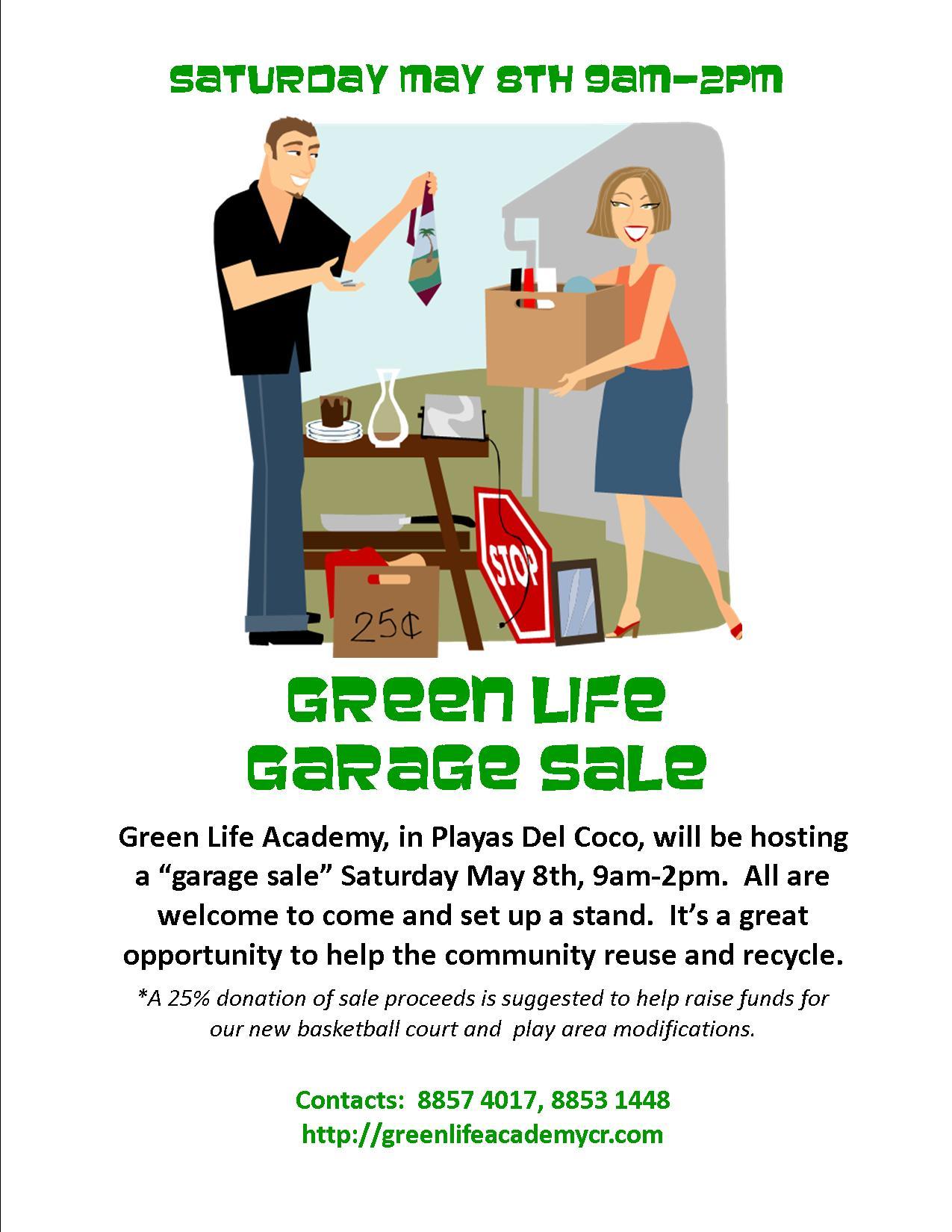 Green Life Academy Community Rummage Sale